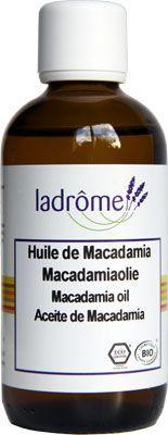 huile végétale de Macadamia ladrôme