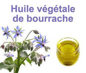 L'huile végétale de Bourrache