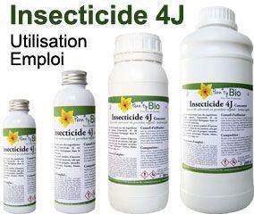 Utilisation et emploi de l'insecticide 4J Penntybio
