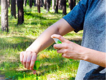 Protection corporelle naturelle contre les insectes