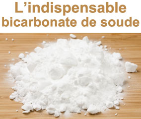 L'indispensable bicarbonate de soude