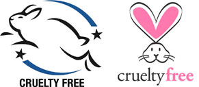 Logos Cruelty free : Leaping Bunny et Beauty without Bunnies