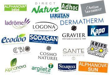 Nos différentes marques chez Penn'ty Bio