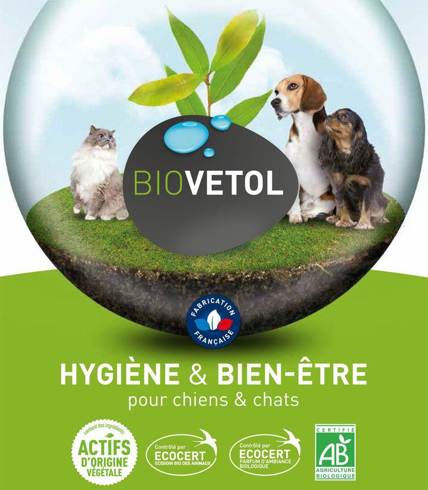 Biovétol, hygiène et bien être pour chiens et chats