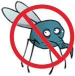 Répulsif textile contre les moustiques