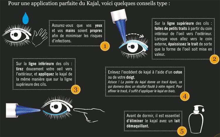 Conseils pour l'application d'un kajal Soultree